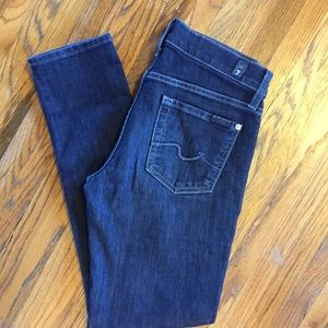 7 For All Mankind, gwenevere skinny jean, sz 25
